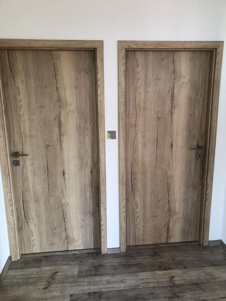 Realizace dveří